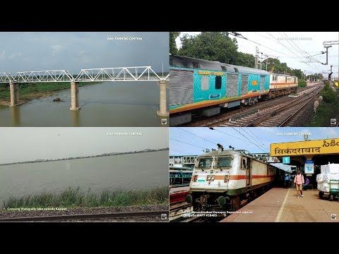 SECUNDERABAD to ITARSI Journey compilation onboard 12791 SECUNDERABAD DANAPUR express