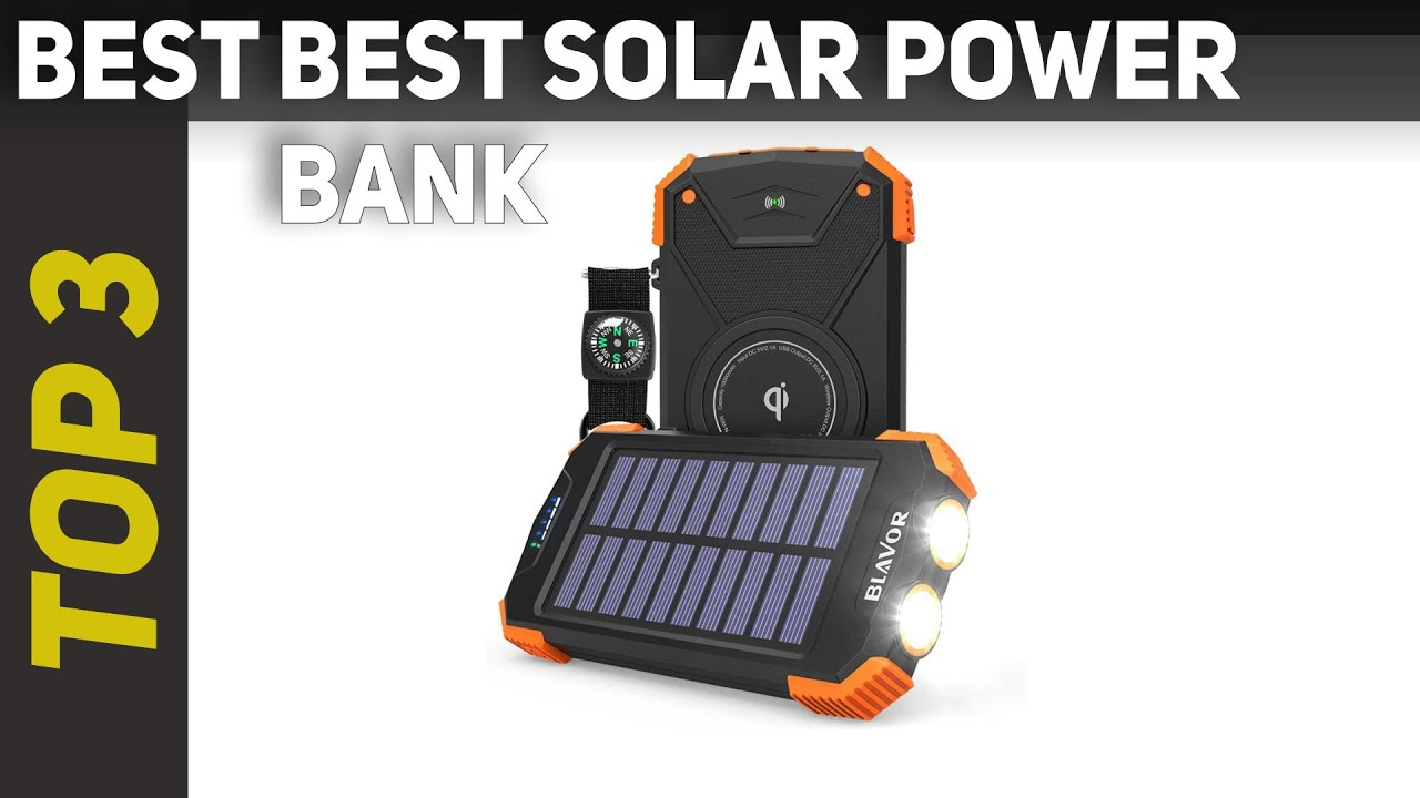 The Best Solar Power Bank for 2021?
