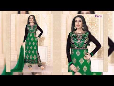 Lawn Salwar Suits Georgette Embroidery Collection~latest fashion in pakistan winter collection
