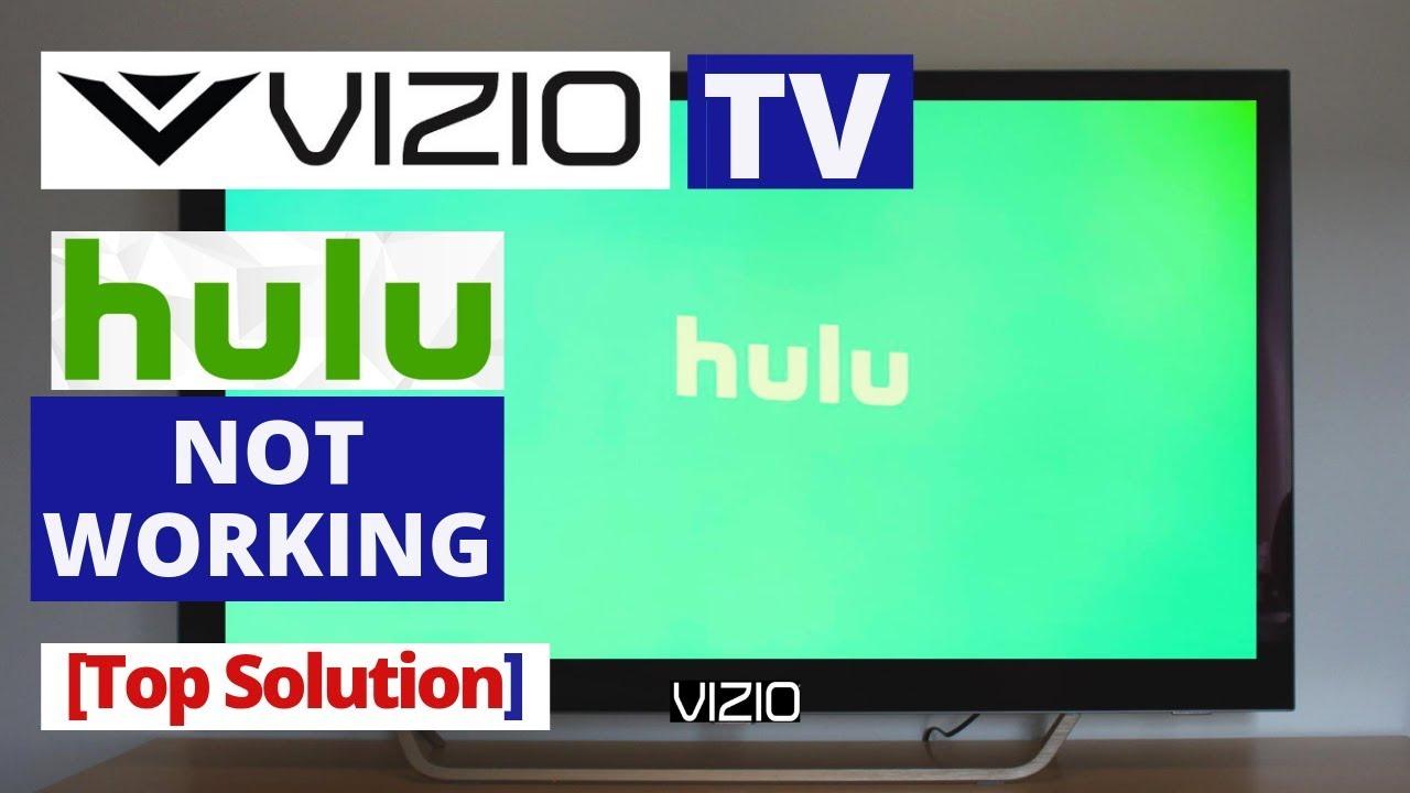 How to Fix Hulu app Not Working on VIZIO Smart TV || Hulu won't work on  VIZIO TV