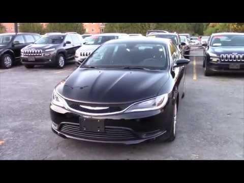2016 Chrysler 200 Lx Black