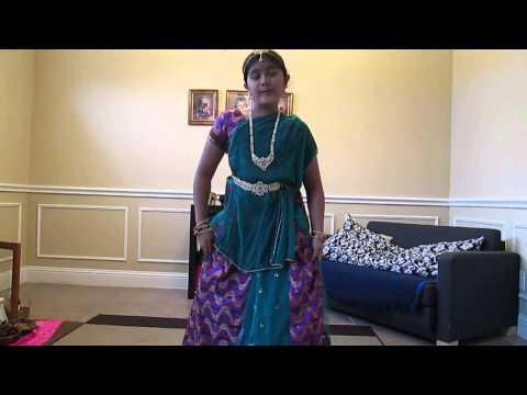 Bruhati dancing for Maya Bazaar Aha naa pellanta full song