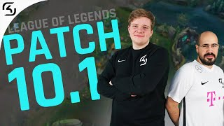 THE NEW SEASON | PROS EXPLAIN PATCH 10.1 | SK LEAGUE OF LEGENDS