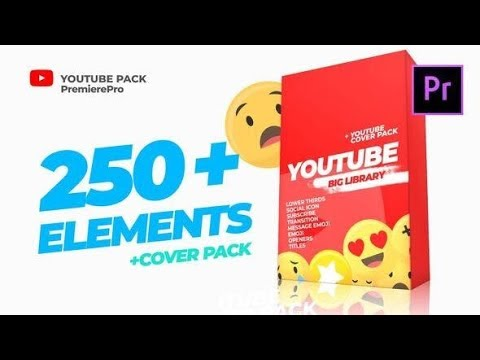 Download Premiere Pro Template: Youtube Library and Сover pack ...