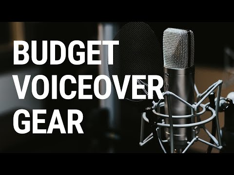 The Best Voice Over Gear For A Professional Sound On A Budget