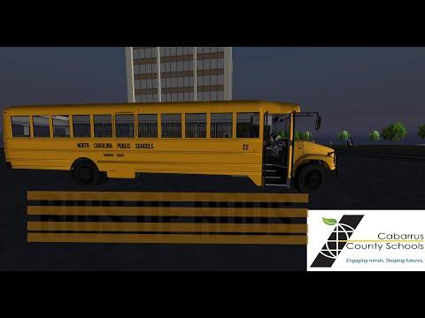 RoR - Driving Bus 22 On Elementary School Morning Run
