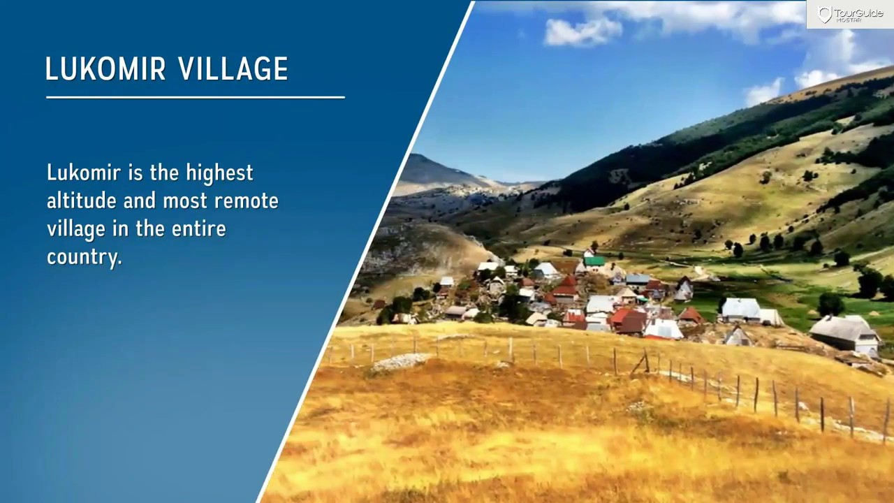 Lukomir - most remote village in Bosnia and Herzegovina