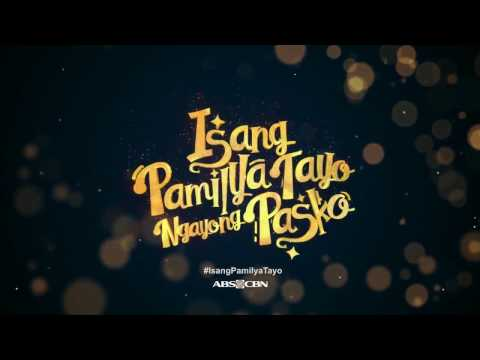 ABS-CBN Christmas Station ID 2016 ''Isang Pamilya Tayo Ngayong Pasko'' (Lyrics)