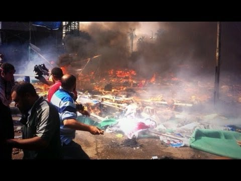 Cairo, Egypt Protests: Deadly Crackdown on Egypt's Pro-Morsi Protestors