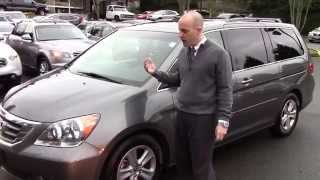 2008 Honda Odyssey Touring Review - In 3 minutes you