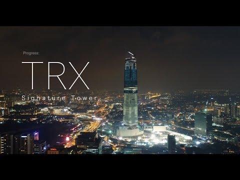 TRX Signature Tower Kuala Lumpur, Malaysia - Progress as 9 March 2018