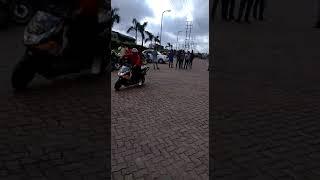 Dangerous bike stunts in durgapur