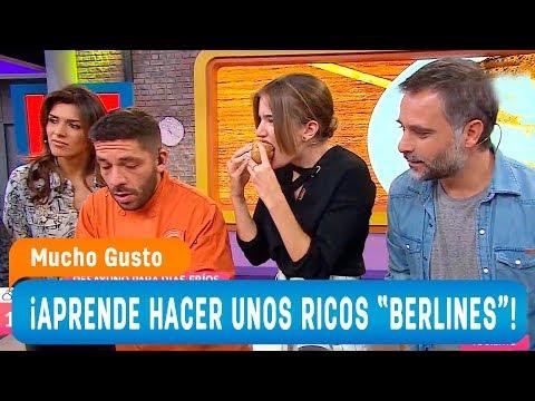 ¡Aprende Hacer Ricos Berlines En Casa! - Mucho Gusto 2018
