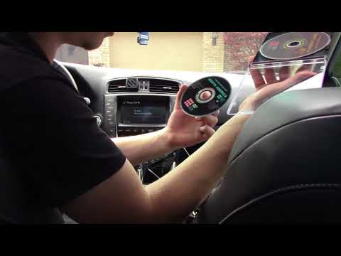 How To Update Your Navigation in a Lexus (Eject Nav Disc 2005-2013) HD