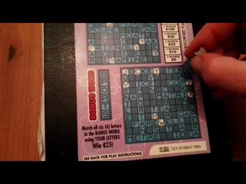 Crossword Plus, Irish National lottery - #174