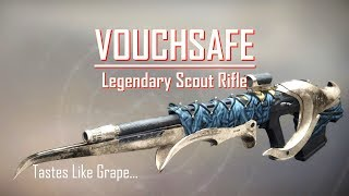 Dreaming City Scout - Vouchsafe - PVP PVE Gameplay Review