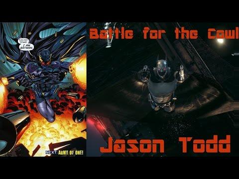 300 Subscriber Special: Batman Arkham Knight: Battle For The Cowl Jason Todd Meshmod