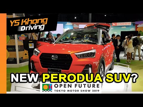 TOKYO MOTOR SHOW 2019: Daihatsu SUV & Copen [Walkaround Review] - New Perodua SUV/Crossover?