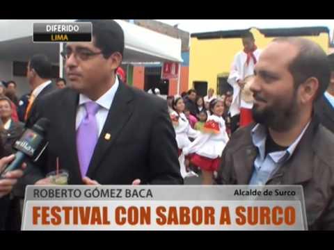 Festival con sabor a Surco