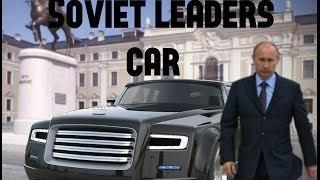 ZIL limousine : The Soviet leaders' car