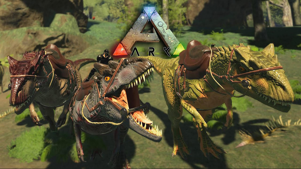 ark survival evolved 14 prezivljavanje alpha allosaurus
