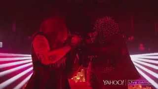 Motionless in White Full Set- Yahoo Live Screen at the Beyond the Barricade Tour 2015 (HD Quality)