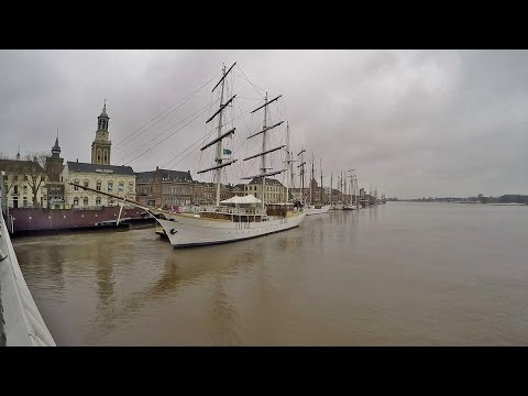 Northern Holland - Old Kampen & River IJssel on a Sundaymorning [Feb 26, 2017]