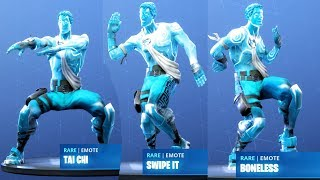FROZEN LOVE RANGER SHOWCASE WITH ALL FORTNITE DANCES (Fortnite Season 7)