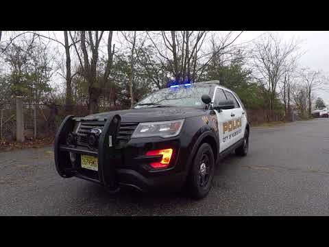 Hackensack Police Department 2018 Ford Interceptor Utility Patrol Unit
