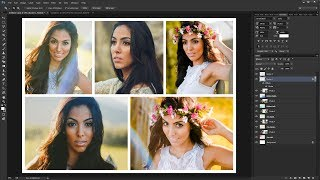 How to Create a Photo Collage Template in Photoshop
