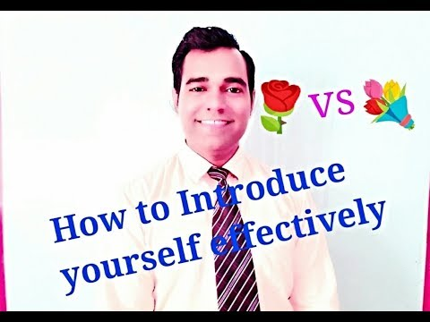 How to give Self Introduction in Interview * Introduce Yourself * Introduction in English