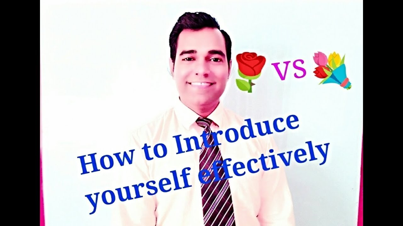 How to give Self Introduction in Interview * Introduce ...