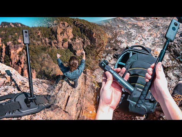 Accessoires pour votre camera 360 : Bullet Time et Back Bar