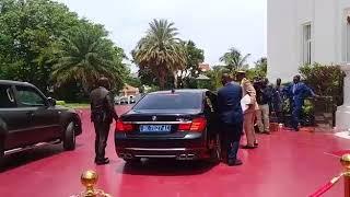 Remaniement - Arrivée du PM Dionne au palais