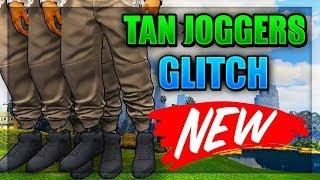 EASIEST TAN JOGGERS GLITCH! (GTA 5 ONLINE) PS4