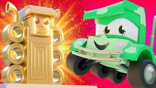 Truck Games - Потерянный город Мультфильмы с грузовиками для детей -