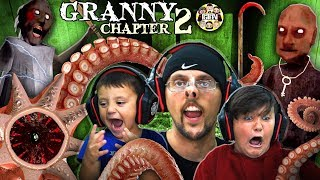 Grandpa House? Granny Chapter Two: Sewer Creature! Fgteev Intense Gameplay