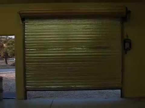 Hamon Overhead Door Inc Janus Roll Up Door With Motor