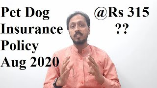 Dog Insurance in India - New Insurance Schemes 2020