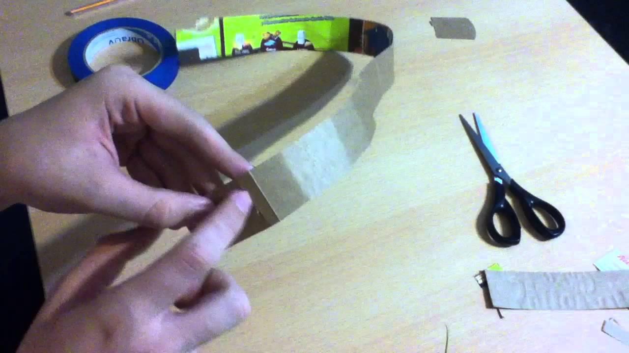 Manualidades para reciclar: corona de cartón - manualidades y ...