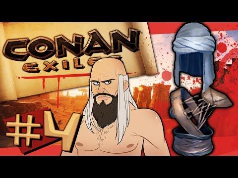 Conan Exiles #4 - Crafting A Hero