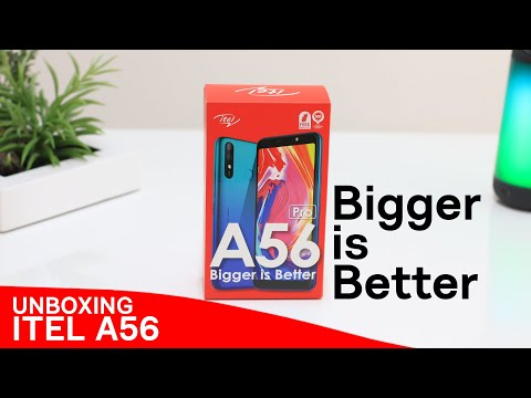 A56 Unboxing Video | Itel Mobile Philippines