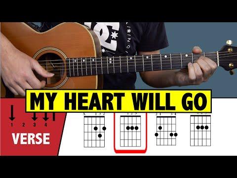 My Heart Will Go On GUITAR TUTORIAL (Easy Chords)
