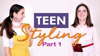 Teen Styling With Micha (Part 1) | تنسيق الأزياء للمراهقات مع ميشا