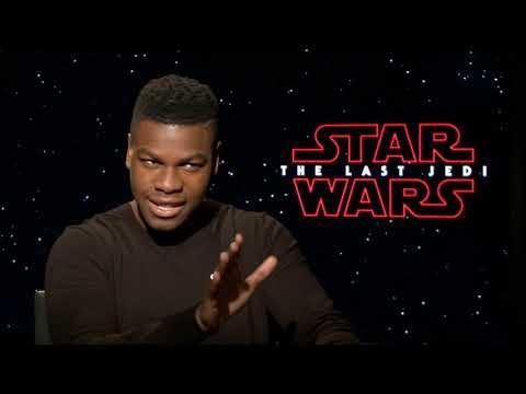 John Boyega on Filming STAR WARS: THE LAST JEDI