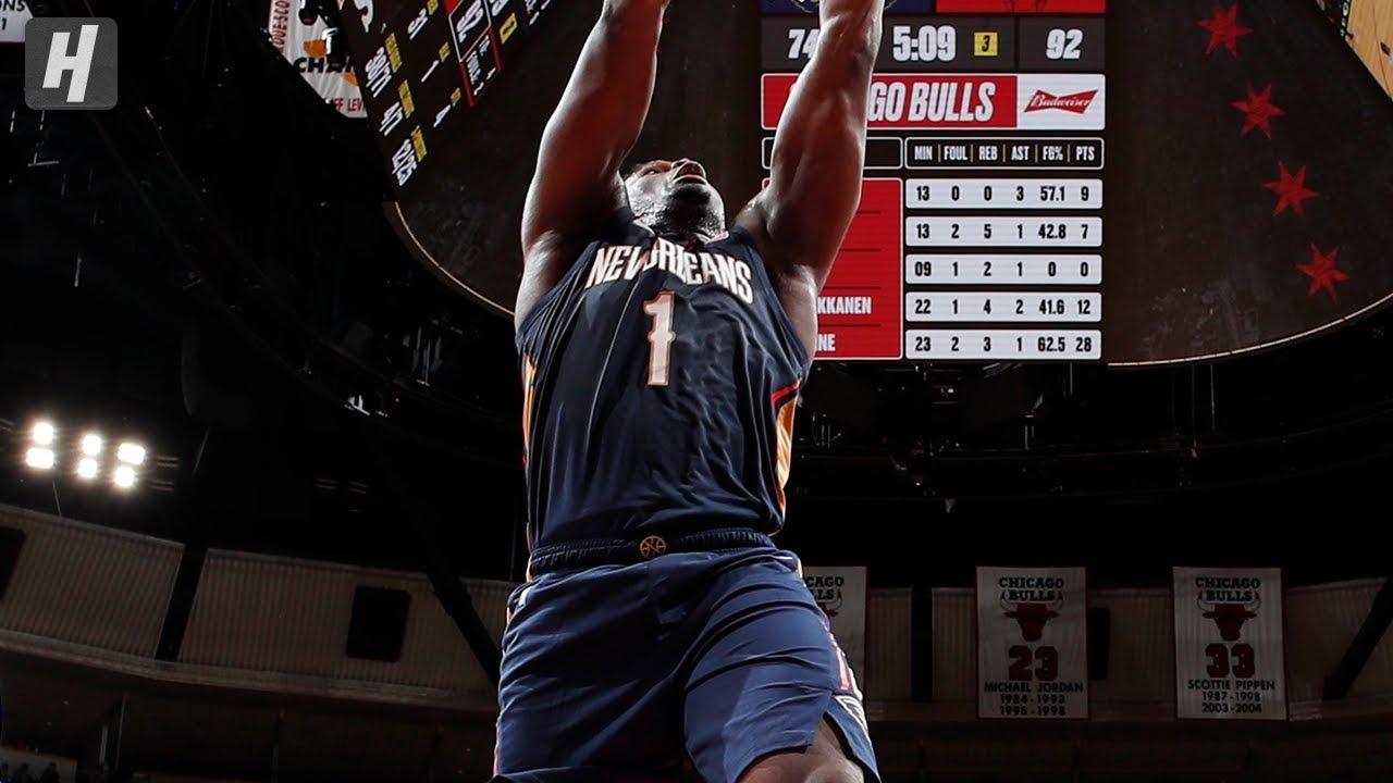 Zion Williamson Throws Down 360 Dunk! Pelicans vs Bulls  | October 9, 2019 | 2019 NBA Preseason