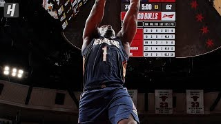 Zion Williamson Throws Down 360 Dunk! Pelicans vs Bulls  | October 9, 2019 | 2019 NBA Preseason