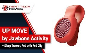 UP MOVE by Jawbone Activity + Sleep Tracker, Red with Red Clip Product Review  – NTR