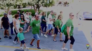 Paseo solidario contra el cáncer en Doña Mencía