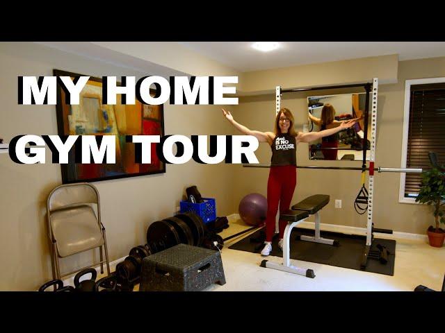 My home Gym Set Up